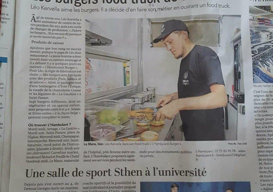 Les burgers food truck de Léo